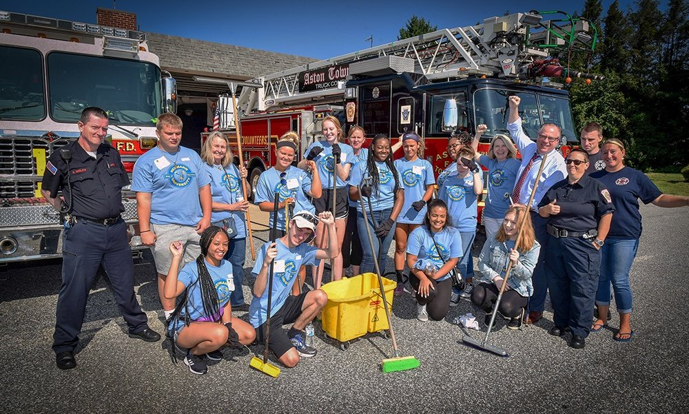 Neumann Students Helping The ATFD
