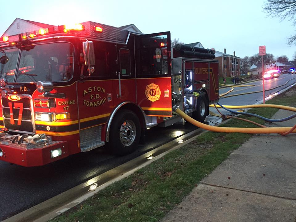 Working Fire At Claymont Apartment Building