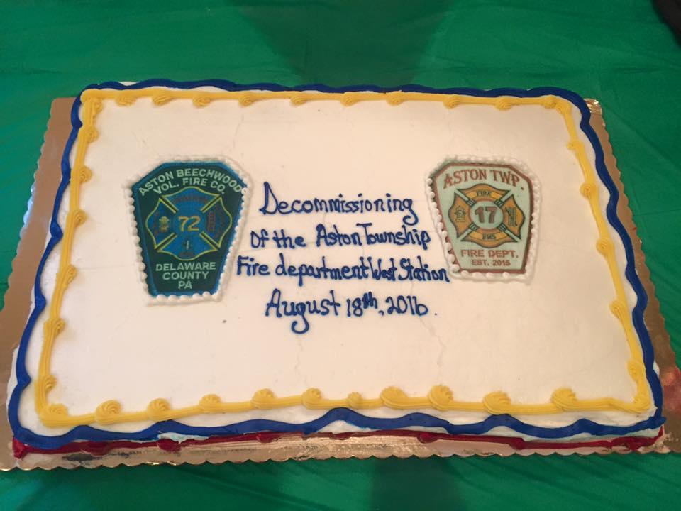 decommission cake